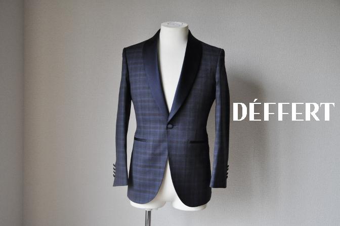 DSC15772 お客様のウエディング衣装の紹介-ネイビーチェックタキシード-