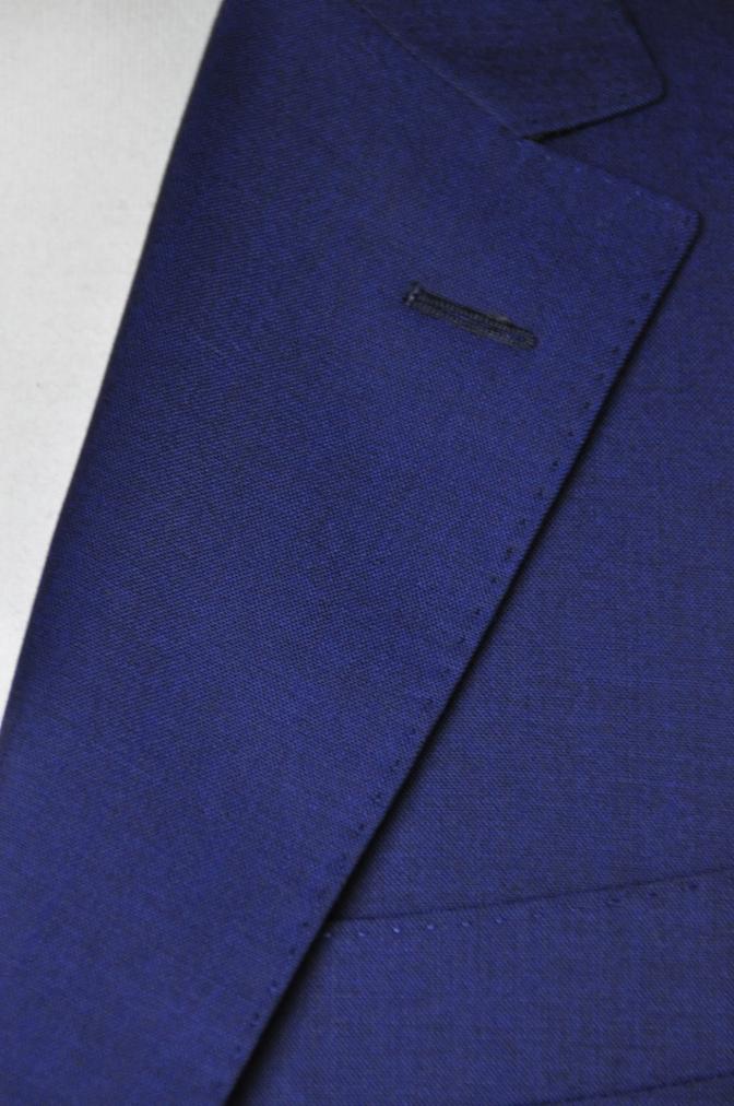 DSC1601 お客様のスーツの紹介- BIELLESI 無地ネイビー-