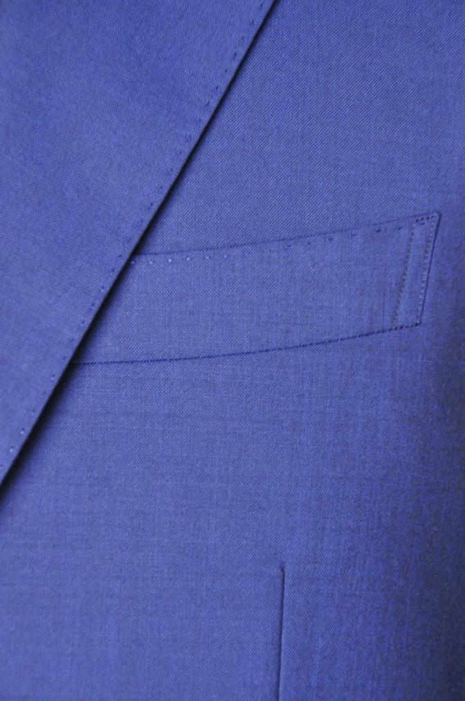 DSC1602 お客様のスーツの紹介- BIELLESI 無地ネイビー-
