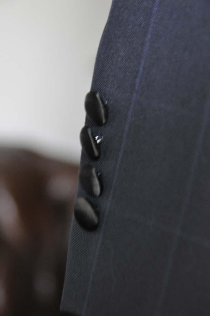 DSC16172 お客様のタキシードの紹介- DARROW DALE ネイビーウィンドペン-