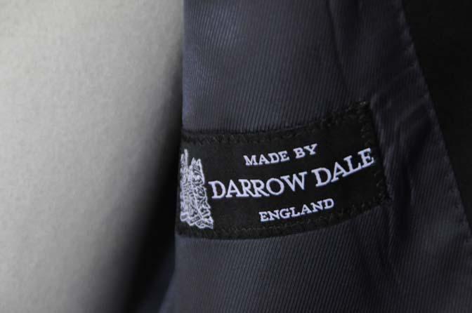 DSC16254 お客様のタキシードの紹介- DARROW DALE ネイビーウィンドペン-
