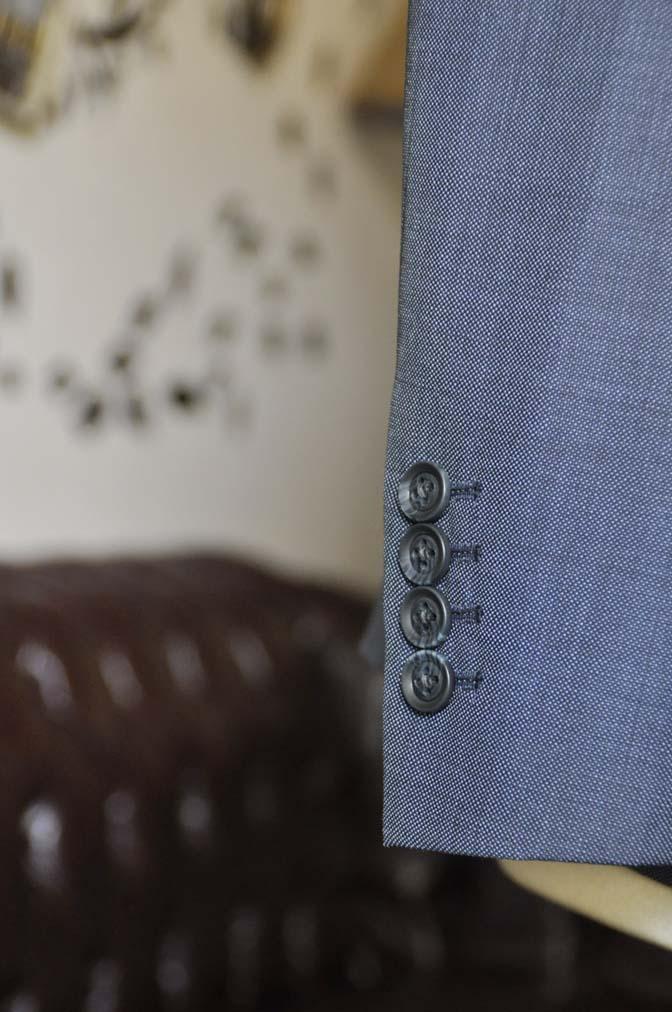 DSC1626-1 お客様のウエディング衣装の紹介- Biellesi無地ネイビースーツ チェックベスト-