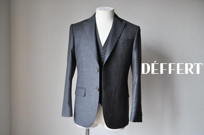 DSC1658 お客様のスーツの紹介-御幸毛織 グレースリーピース-