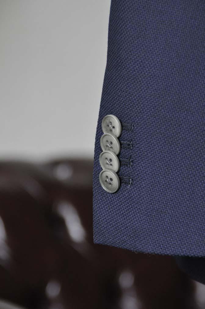 DSC1669 お客様のジャケットの紹介-Biellesiネイビーホップサック ジャケット- 名古屋の完全予約制オーダースーツ専門店DEFFERT