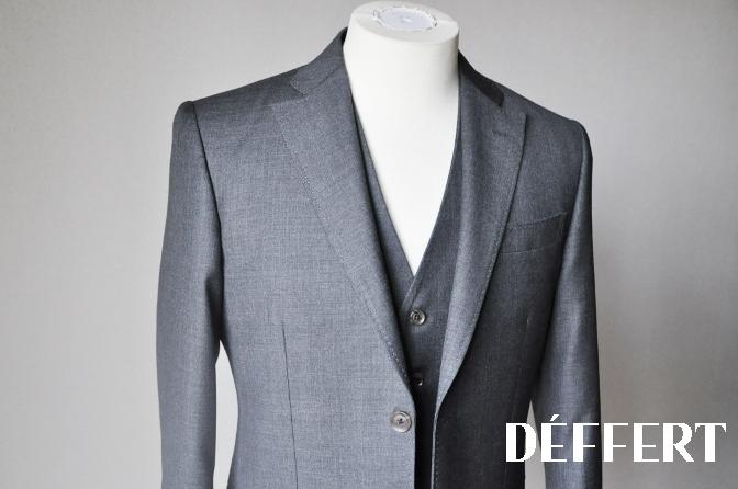 DSC16752 お客様のスーツの紹介-御幸毛織 グレースリーピース-