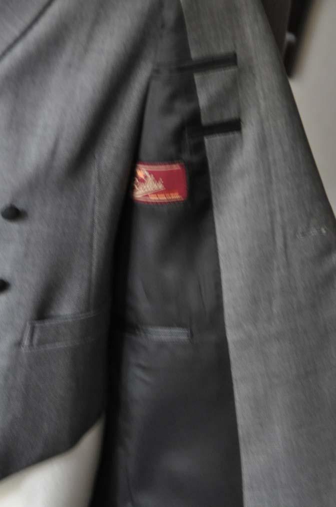 DSC16791 お客様のウエディング衣装の紹介-Biellesi グレージャケットダブルベスト- 名古屋の完全予約制オーダースーツ専門店DEFFERT