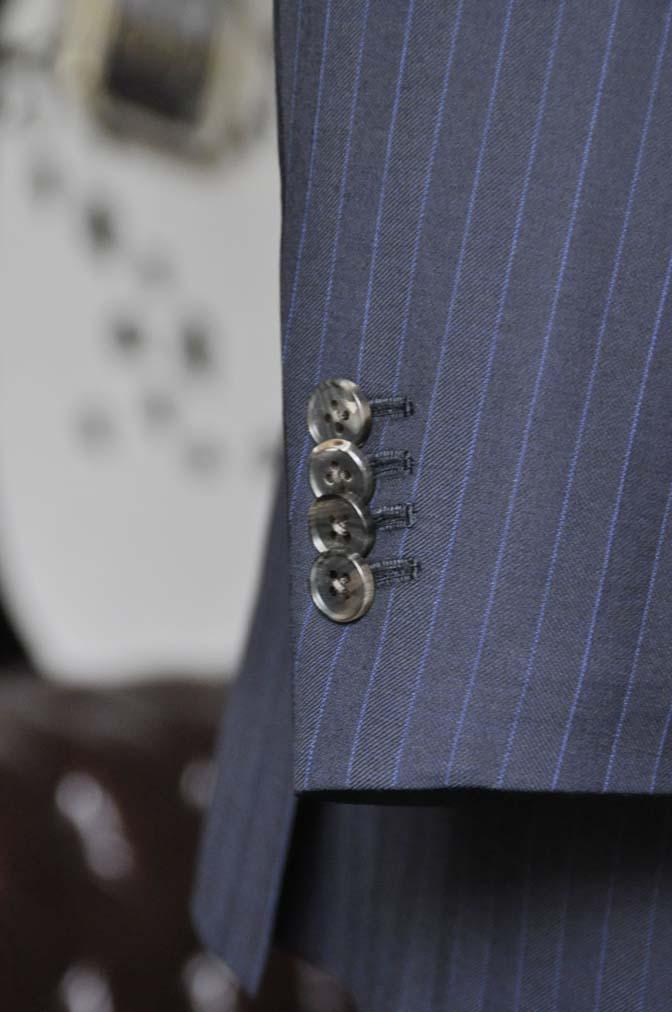 DSC1687-1 お客様のスーツの紹介-CARLO BARBERAネイビーストライプスーツ- 名古屋の完全予約制オーダースーツ専門店DEFFERT