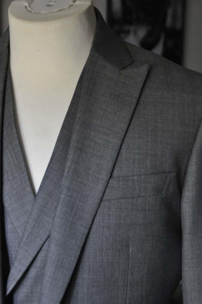 DSC16871 お客様のウエディング衣装の紹介-Biellesi グレージャケットダブルベスト-