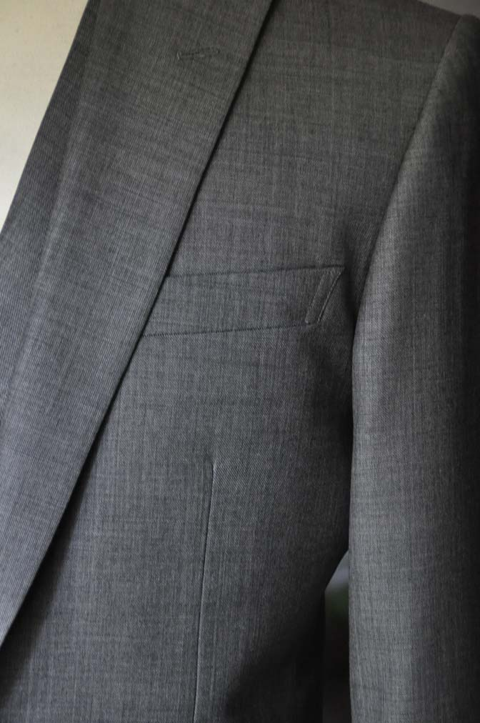 DSC16881 お客様のウエディング衣装の紹介-Biellesi グレージャケットダブルベスト-