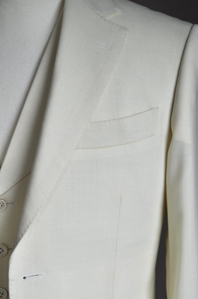 DSC1704 オーダースーツ-ホワイトホップサックスリーピーススーツ-