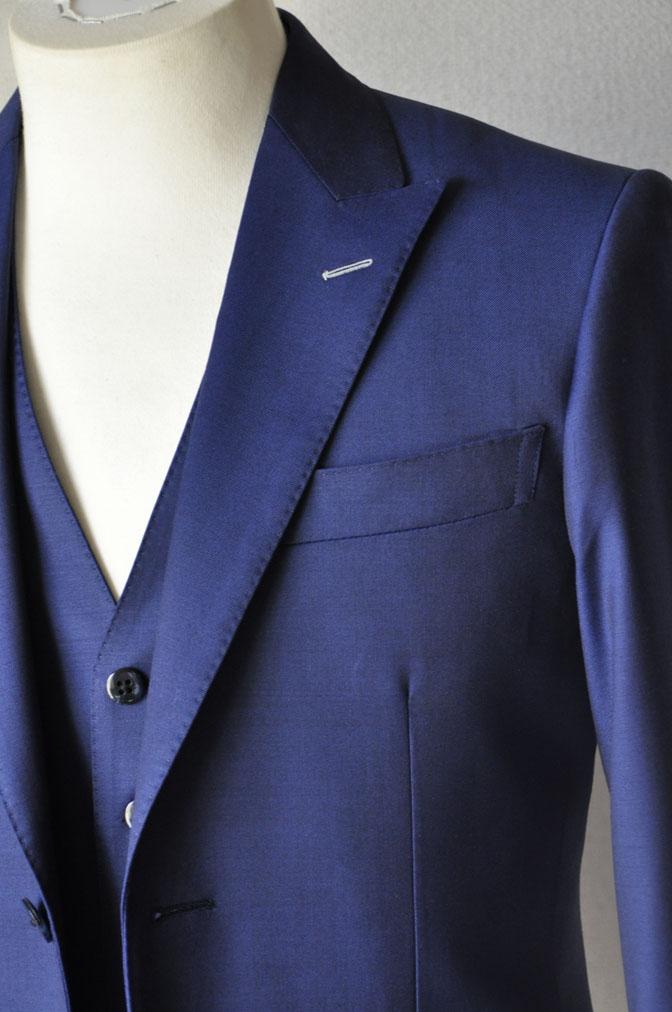 DSC17102 お客様のウエディング衣装の紹介-ネイビースリーピース-