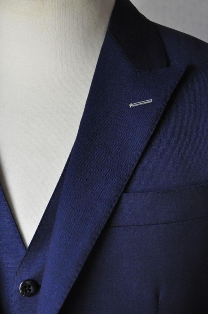 DSC17112 お客様のウエディング衣装の紹介-ネイビースリーピース-