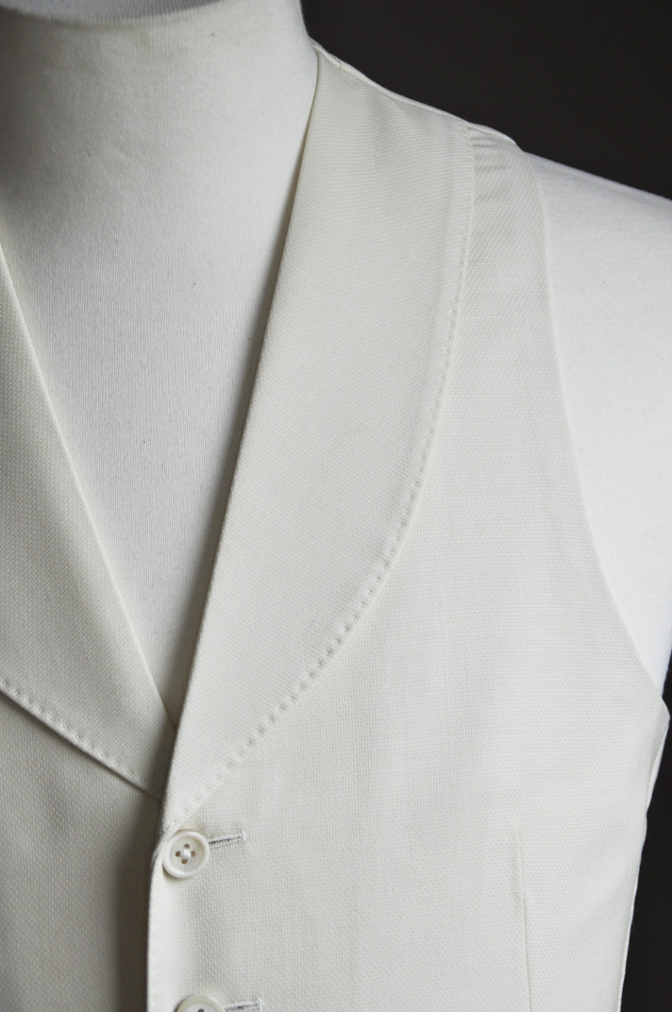 DSC1712 オーダースーツ-ホワイトホップサックスリーピーススーツ-