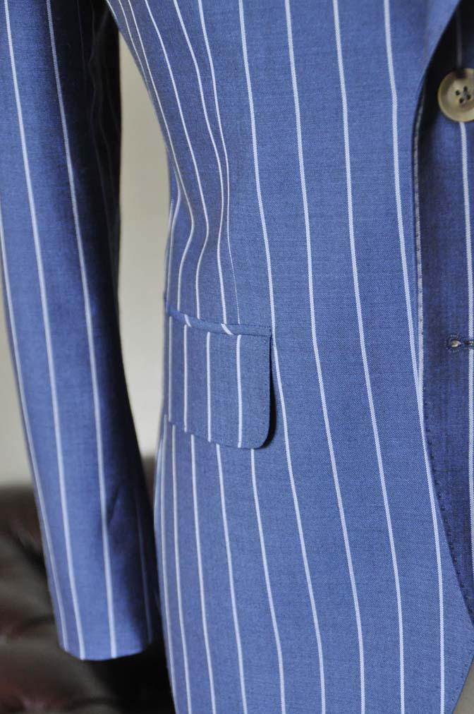 DSC1722-2 お客様のスーツの紹介-DARROW DALEネイビーストライプスーツ- 名古屋の完全予約制オーダースーツ専門店DEFFERT