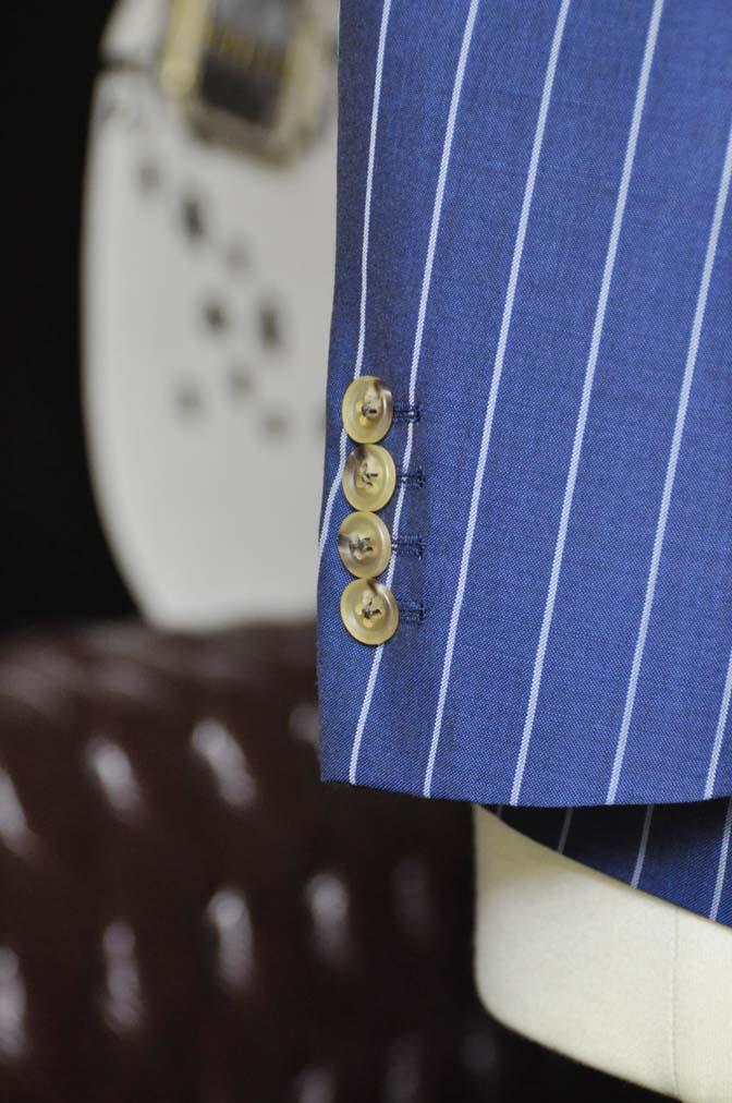 DSC1723-2 お客様のスーツの紹介-DARROW DALEネイビーストライプスーツ- 名古屋の完全予約制オーダースーツ専門店DEFFERT