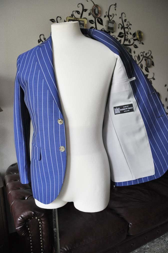 DSC1724-1 お客様のスーツの紹介-DARROW DALEネイビーストライプスーツ- 名古屋の完全予約制オーダースーツ専門店DEFFERT