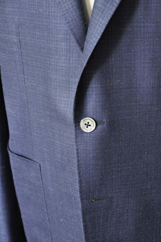 DSC1736-1 お客様のジャケットの紹介-Tallia Di Delfinoネイビーリネンジャケット- 名古屋の完全予約制オーダースーツ専門店DEFFERT