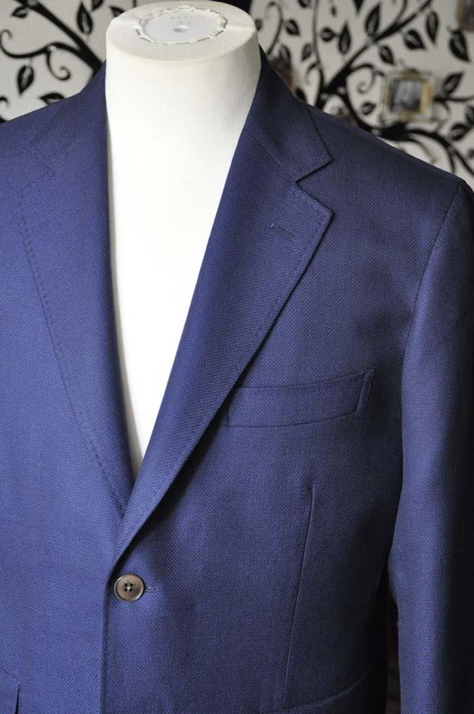 DSC1751-1 お客様のジャケットの紹介-CANONICOネイビーホップサックジャケット-