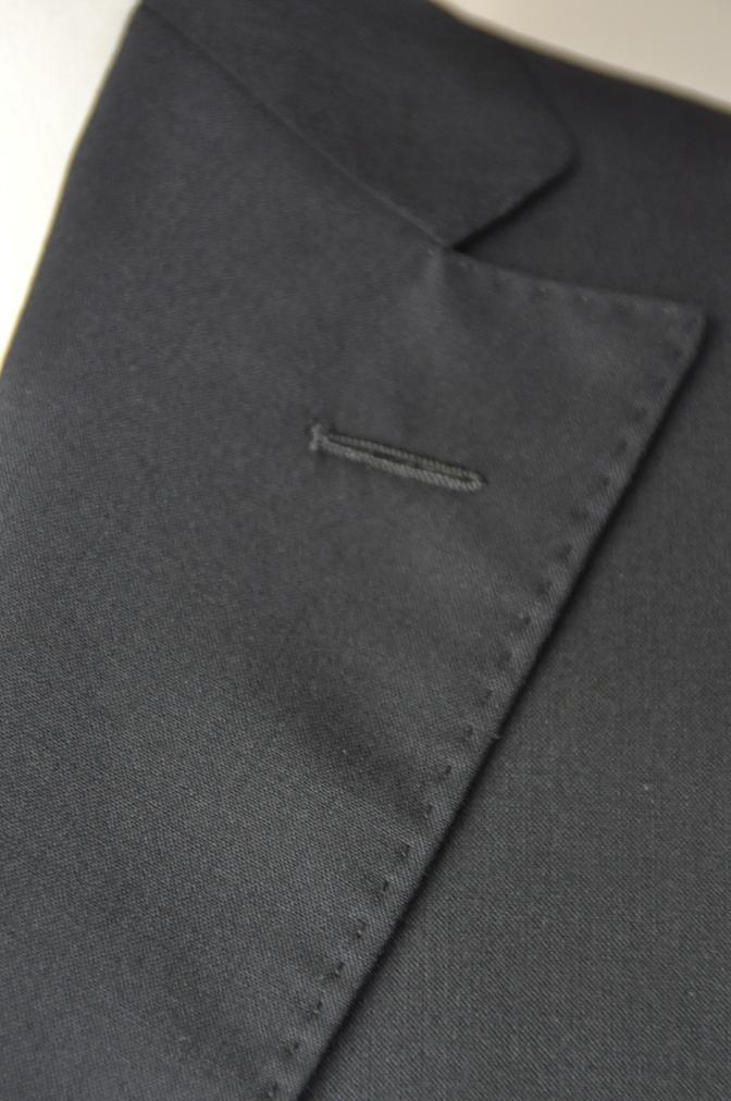DSC17561 お客様のスーツの紹介-無地ネイビースーツ- 名古屋の完全予約制オーダースーツ専門店DEFFERT