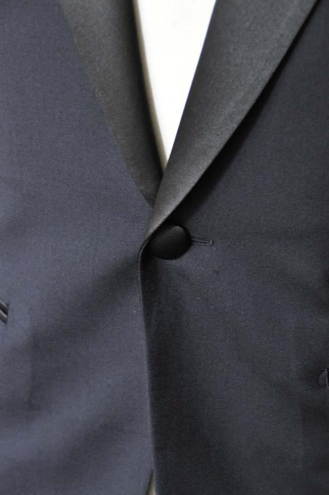 DSC1768 お客様のタキシードの紹介- ブラックピークドラペルタキシード- 名古屋の完全予約制オーダースーツ専門店DEFFERT