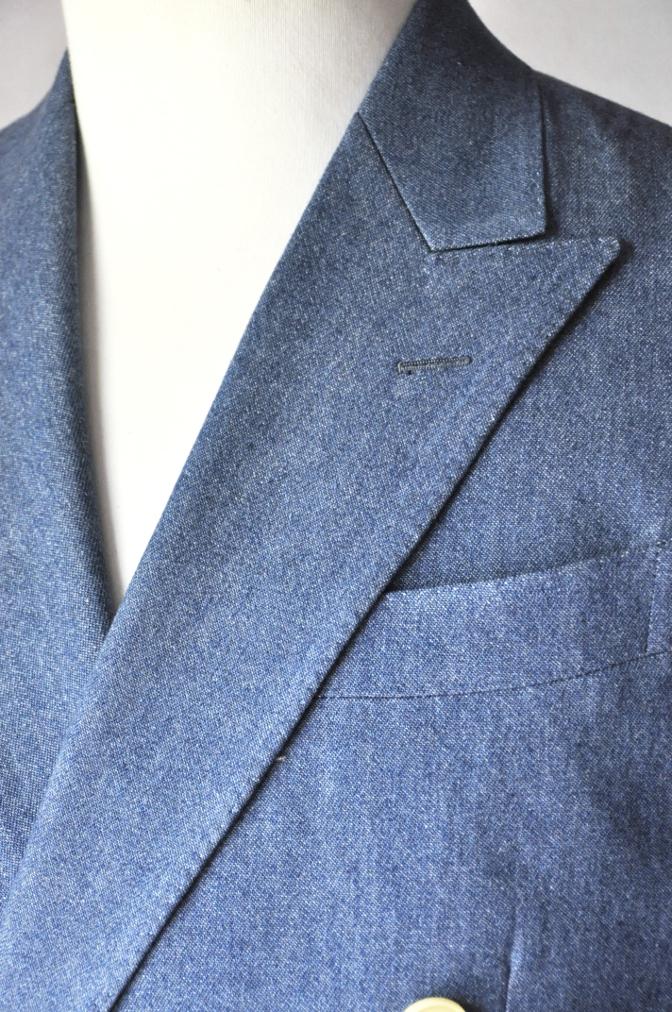 DSC1792 お客様のジャケットの紹介- デニム ダブルジャケット-