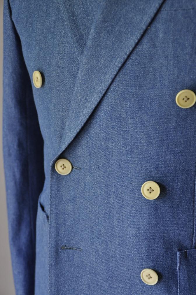 DSC1794 お客様のジャケットの紹介- デニム ダブルジャケット-