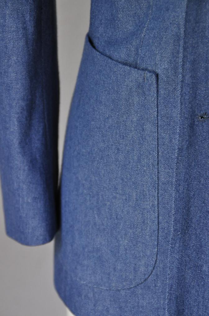 DSC1795 お客様のジャケットの紹介- デニム ダブルジャケット-