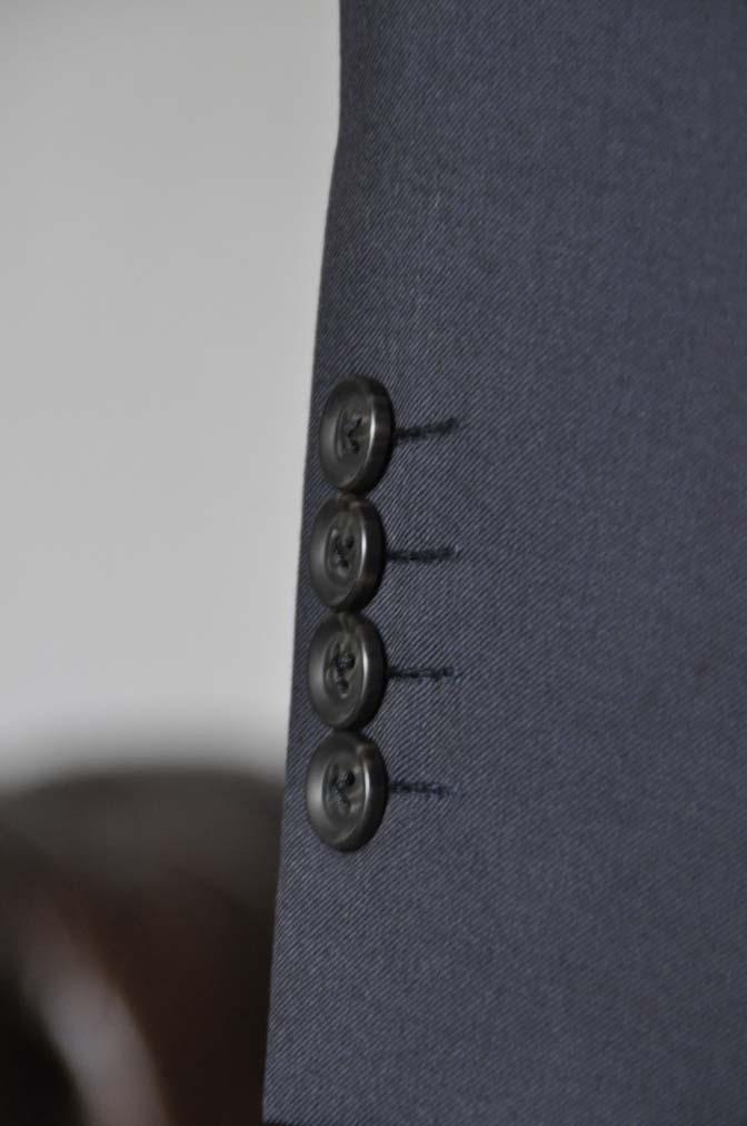 DSC18431 お客様のスーツの紹介-Biellesi 無地ネイビースーツ-