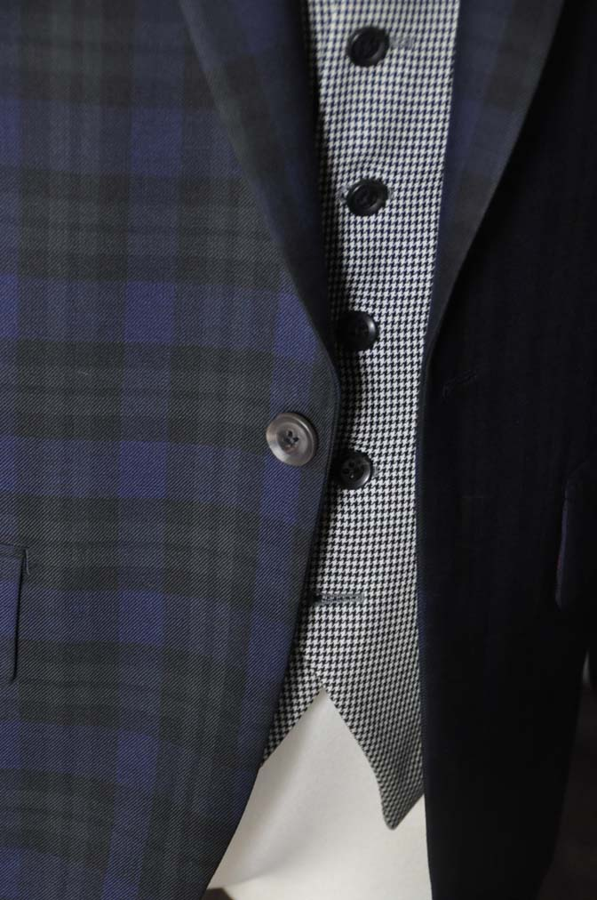 DSC18862 お客様のウエディング衣装の紹介- ブラックウォッチスーツ-