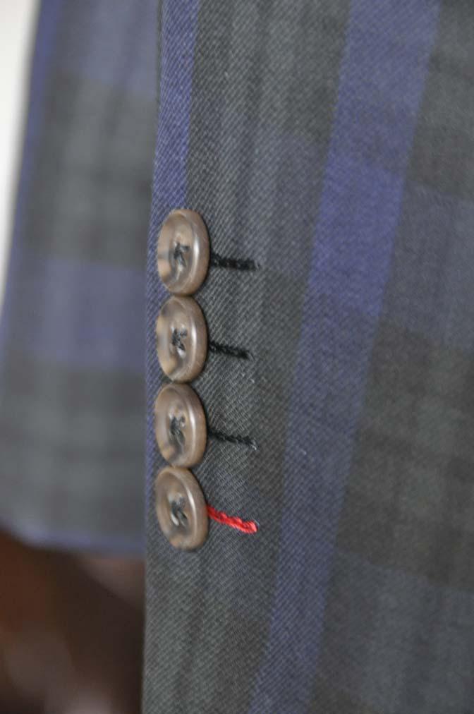 DSC18882 お客様のウエディング衣装の紹介- ブラックウォッチスーツ-