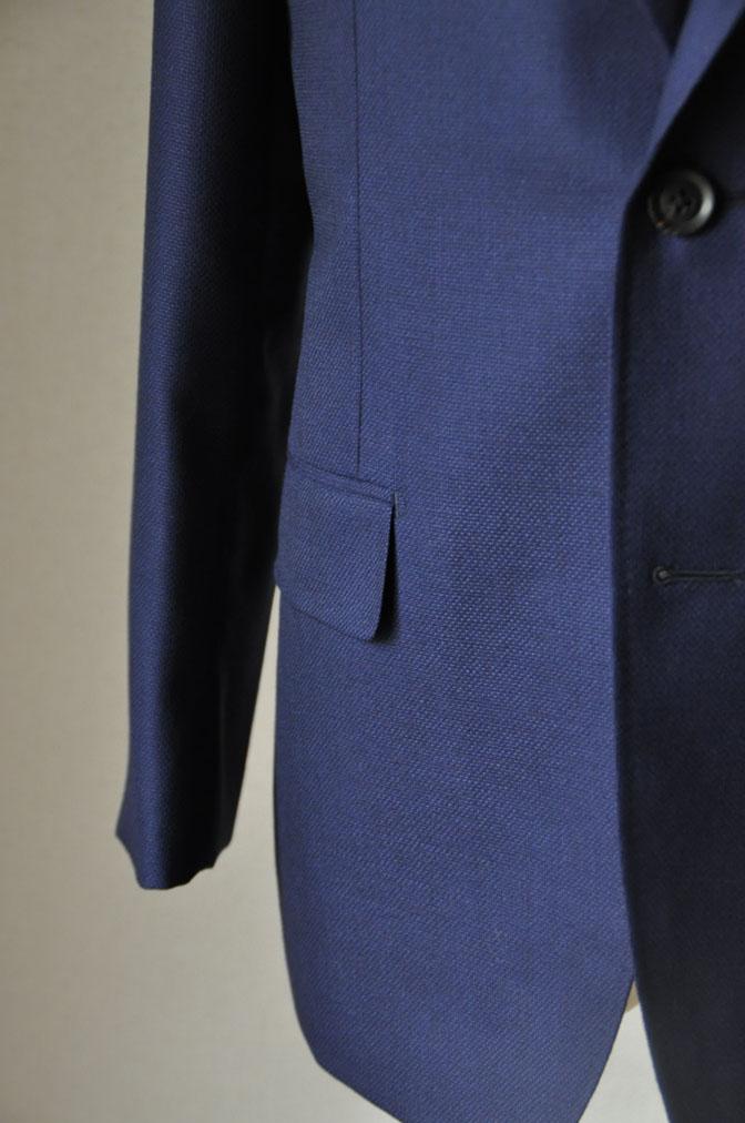 DSC1889 お客様のジャケットの紹介-CANONICO ネイビーホップサックジャケット- 名古屋の完全予約制オーダースーツ専門店DEFFERT