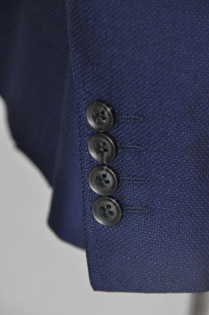 DSC18911 お客様のジャケットの紹介-CANONICO ネイビーホップサックジャケット- 名古屋の完全予約制オーダースーツ専門店DEFFERT