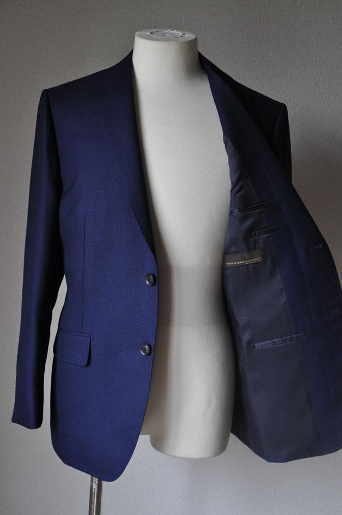 DSC1892 お客様のジャケットの紹介-CANONICO ネイビーホップサックジャケット- 名古屋の完全予約制オーダースーツ専門店DEFFERT