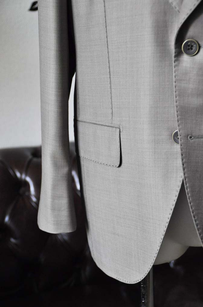 DSC1895-1 お客様のスーツの紹介-Ermenegild Zegna Trofeo ブラウンスーツ- 名古屋の完全予約制オーダースーツ専門店DEFFERT