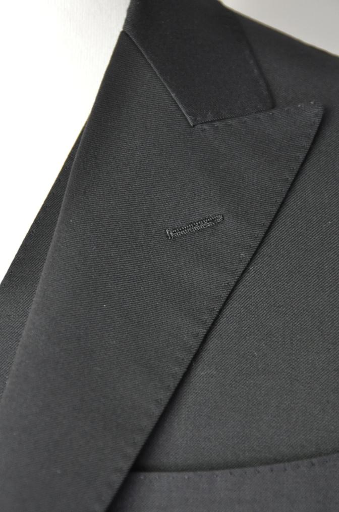 DSC1898 お客様のスーツの紹介- BIELLESI ブラックスリーピース-