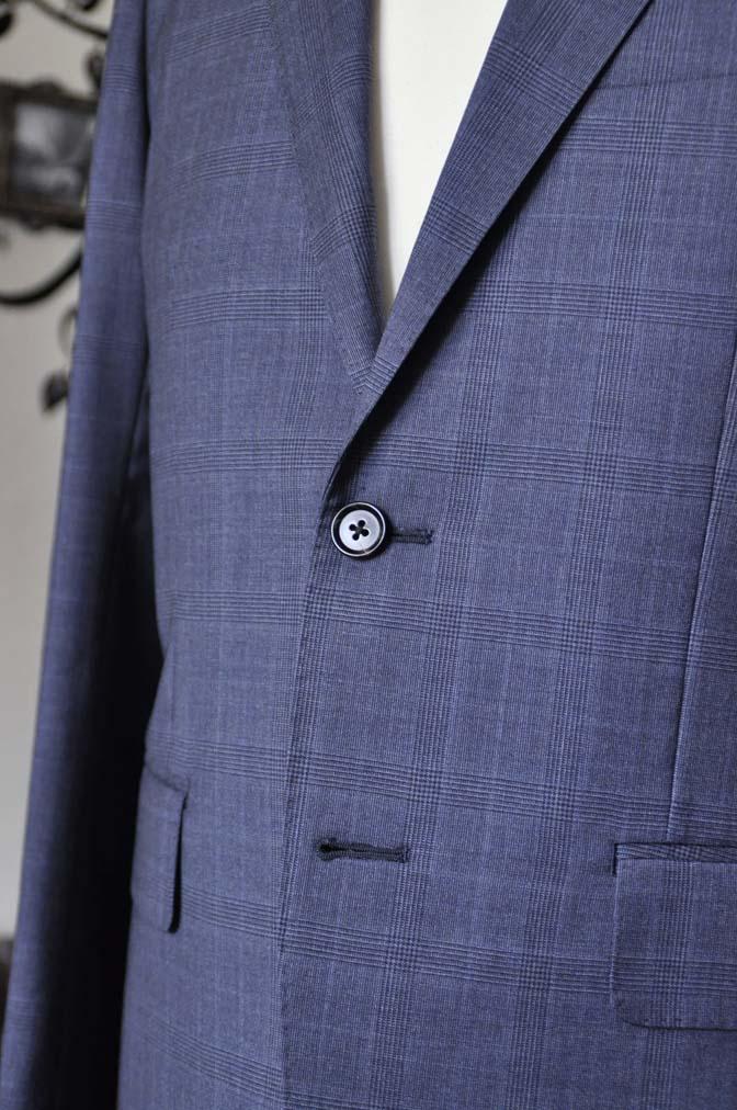 DSC1916-1 お客様のスーツの紹介-Biellesiネイビーグレンチェックスーツ-