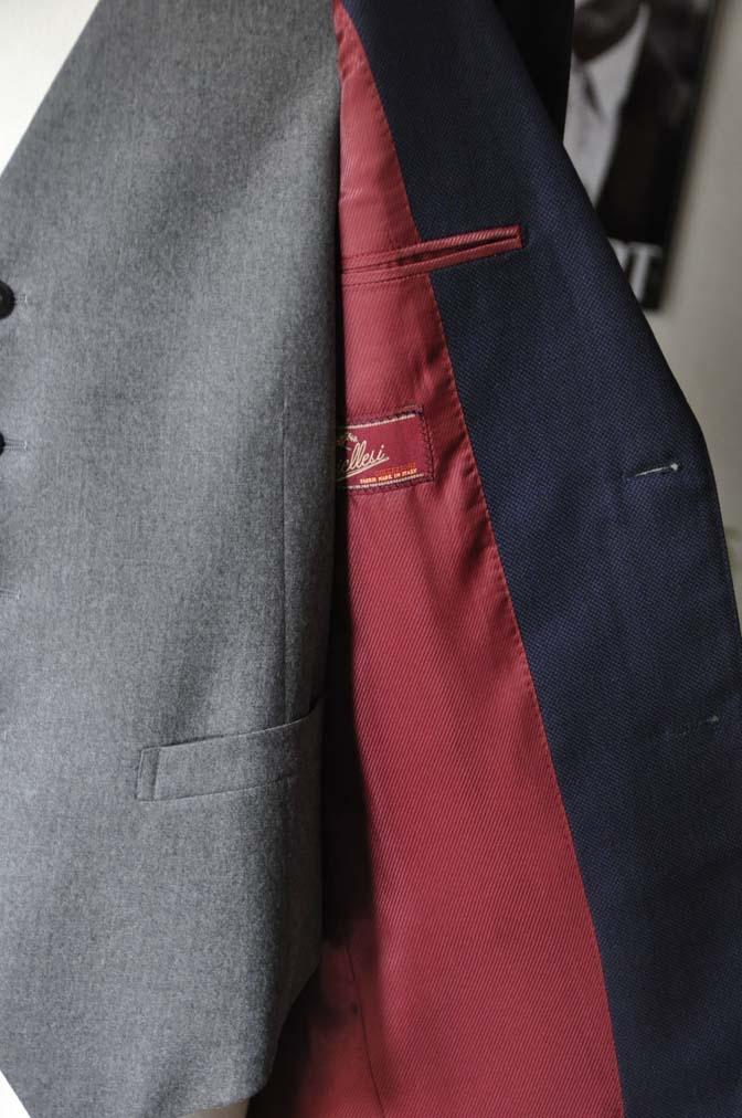DSC1920 お客様のウエディング衣装の紹介- ネイビーバーズアイスーツ、グレーベスト-DSC1920 お客様のウエディング衣装の紹介- ネイビーバーズアイスーツ、グレーベスト- 名古屋市のオーダータキシードはSTAIRSへ