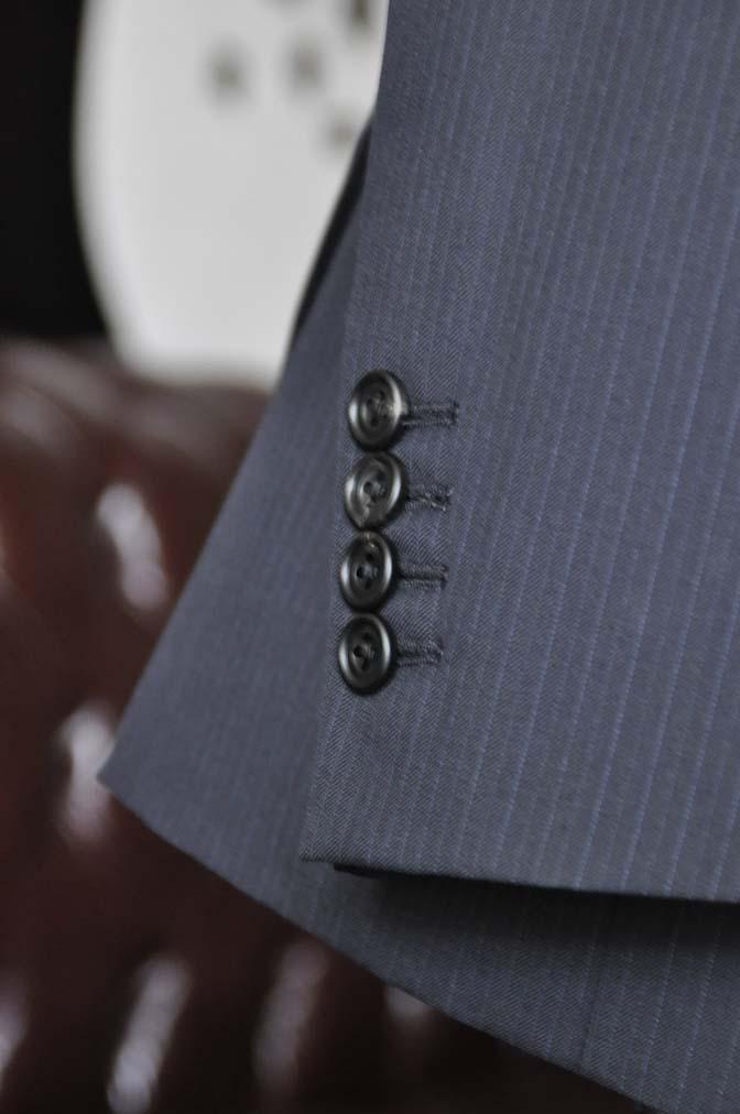 DSC1943-1 お客様のスーツの紹介-CARLO BARBERAネイビーストライプスーツ- 名古屋の完全予約制オーダースーツ専門店DEFFERT