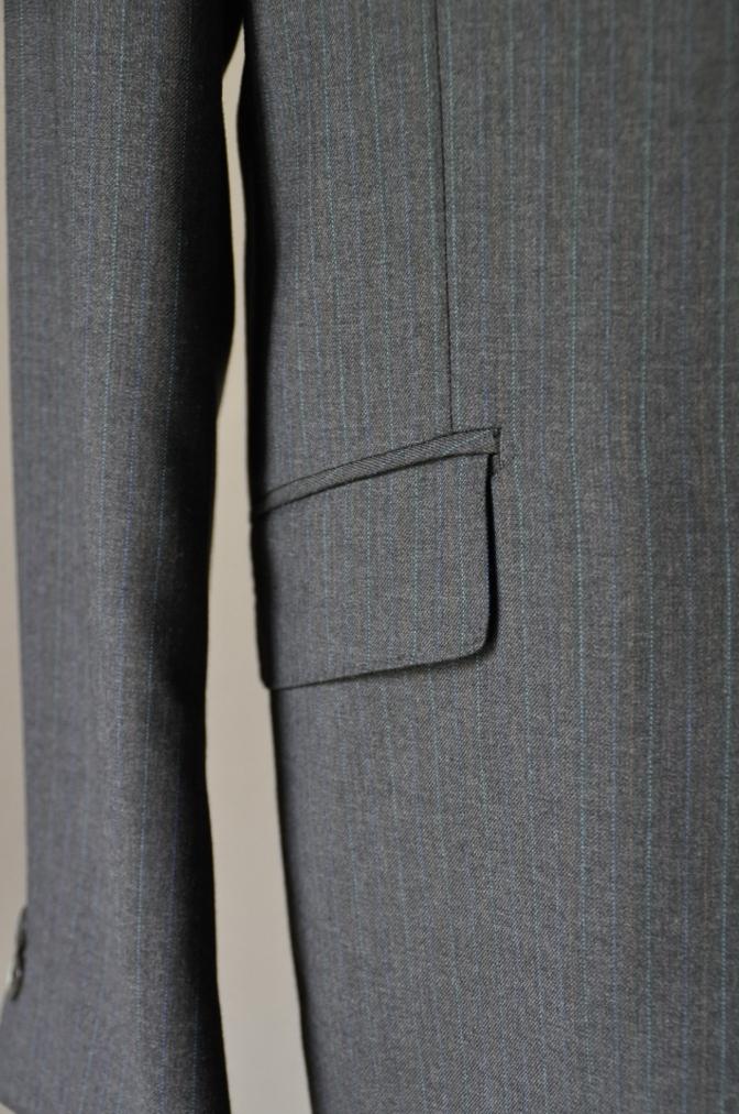 DSC1954 お客様のスーツの紹介-EUROTEX グレーストライプ-