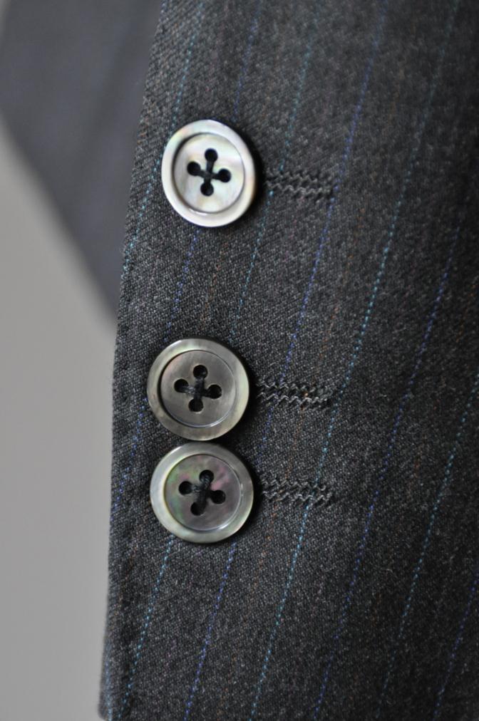 DSC1955 お客様のスーツの紹介-EUROTEX グレーストライプ-