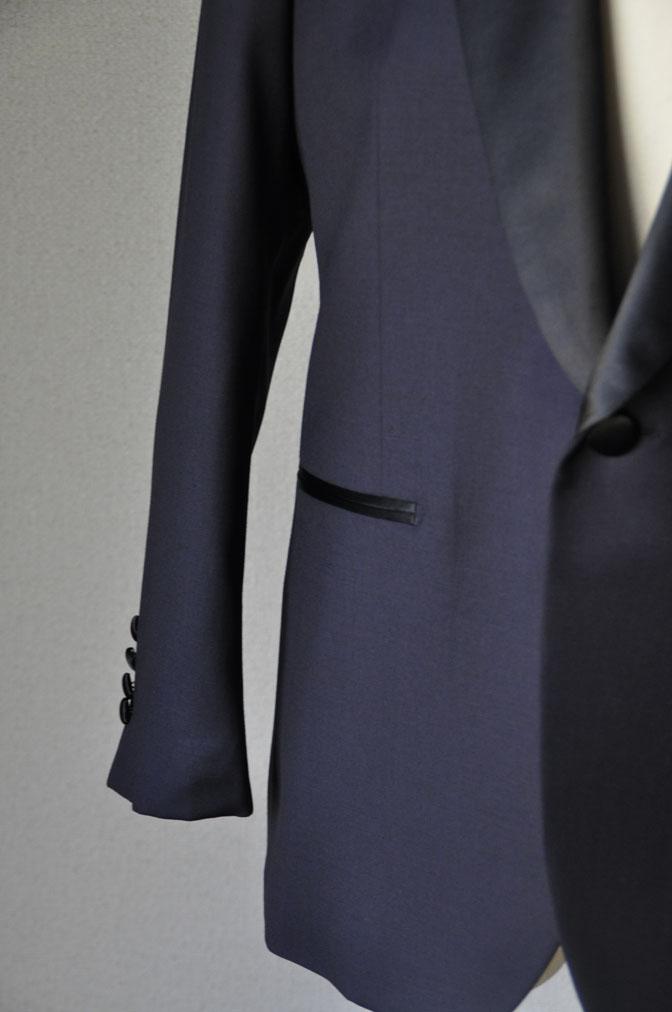 DSC1960 お客様のウエディング衣装の紹介-ネイビータキシード- 名古屋の完全予約制オーダースーツ専門店DEFFERT