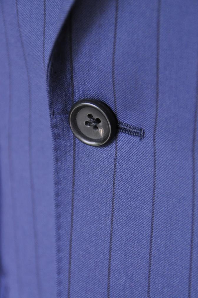 DSC1986 お客様のスーツの紹介-BIELLESI ネイビーストライプ-
