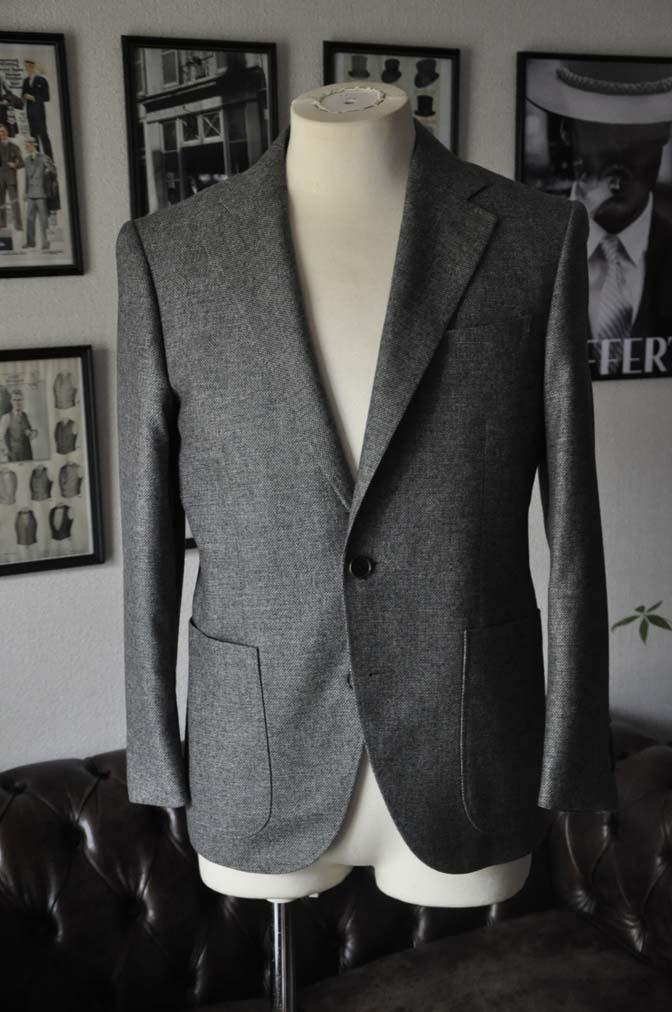 DSC19881 お客様のジャケットの紹介-グレーフランネルジャケット-