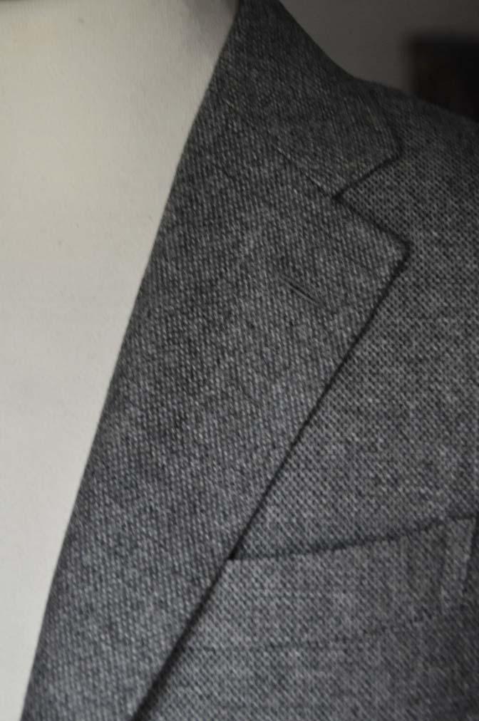 DSC19901 お客様のジャケットの紹介-グレーフランネルジャケット-