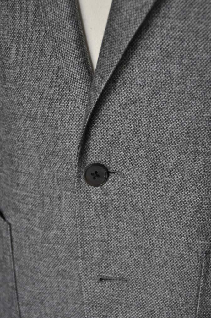 DSC1992 お客様のジャケットの紹介-グレーフランネルジャケット-