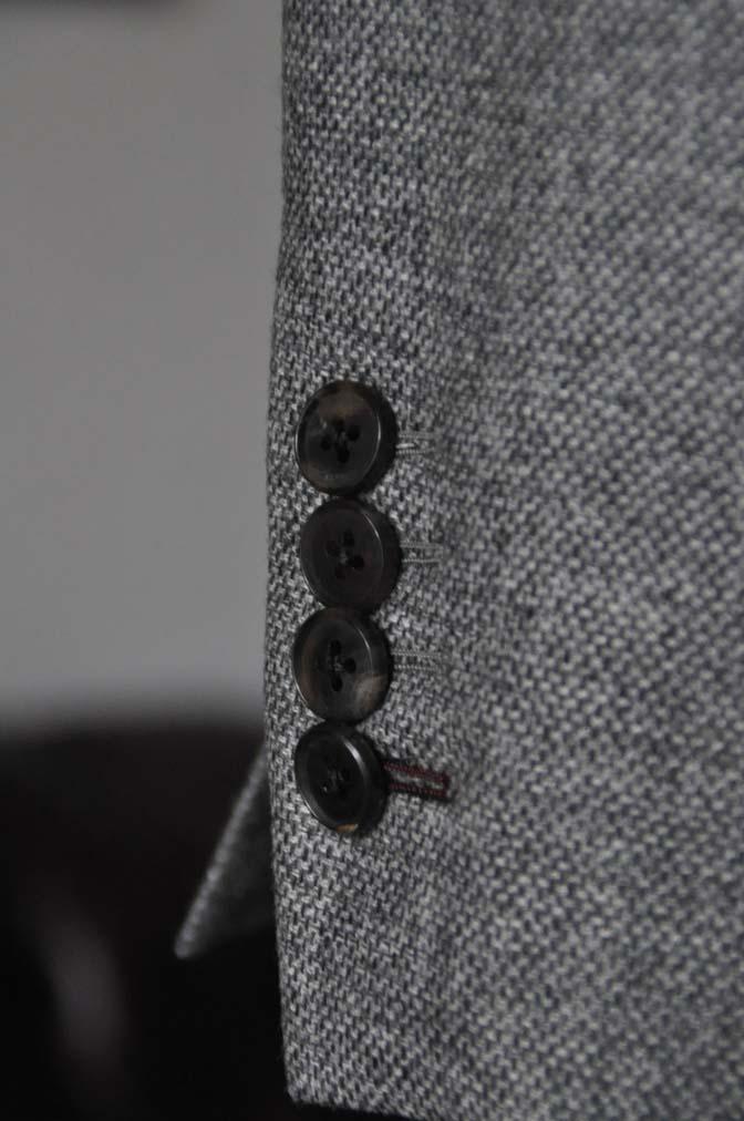 DSC19941 お客様のジャケットの紹介-グレーフランネルジャケット-
