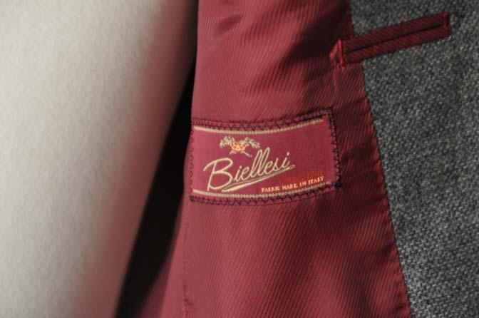DSC19991 お客様のジャケットの紹介-グレーフランネルジャケット-
