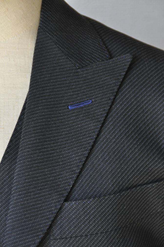 DSC20121 お客様のスーツの紹介-チャコールグレー スリーピーススーツ-