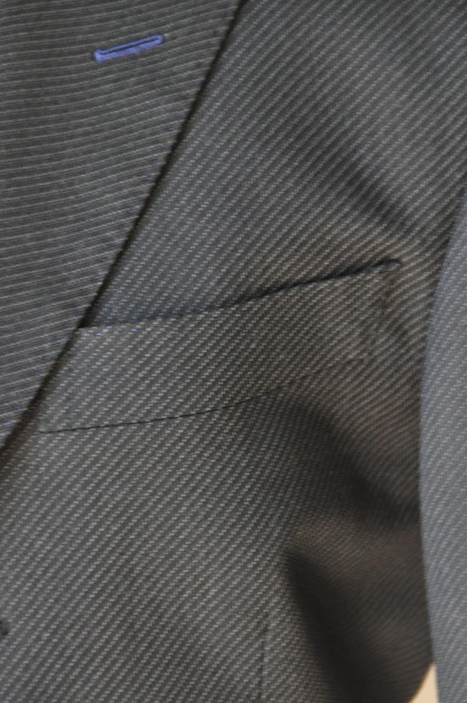 DSC20131 お客様のスーツの紹介-チャコールグレー スリーピーススーツ-
