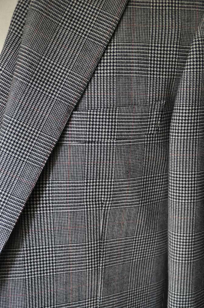 DSC20162 お客様のスーツの紹介- DUGDALE グレンチェック ダブルベスト-